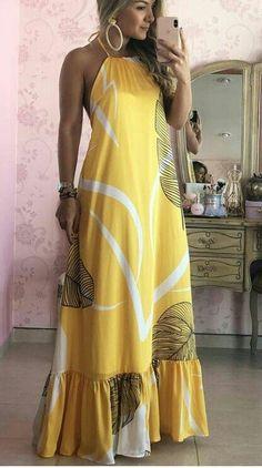 Summer Fashion Tips .Summer Fashion Tips Cute Dresses, Beautiful Dresses, Casual Dresses, Casual Outfits, Summer Dresses, Summer Maxi, Dresses Dresses, Fashion Mode, Boho Fashion