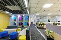HERE offices by Design Transit, Bangalore – India » Retail Design Blog