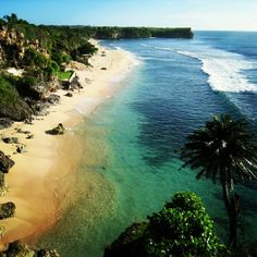 Balangan Beach in Badung, Bali