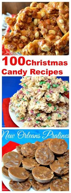 100 #Christmas Candy Recipes One of my favorite things to do during the Christmas season is making candy. I can never get…