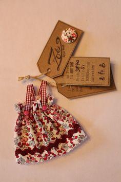 Tuto faire-part mini robe