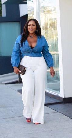 Plus Size Fashion For Women, Black Women Fashion, Look Fashion, Plus Size Women, Plus Fashion, Classy Fashion, Feminine Fashion, Fashion Sale, Cheap Fashion