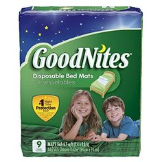 One in nine kids still wet the bed - even potty-trained children have nighttime accidents. Goodnites wants to be your...
