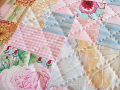 exquisite hand quilting