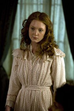Lark rise to Candleford BBC One via Flickr - Olivia Hallinan as Laura Timmins