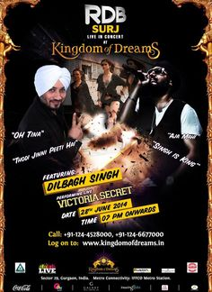 Dilbagh singh super sexy Victoria secret RDB Concert at Kingdom of Dreams Gurgaon Delhi - NCR