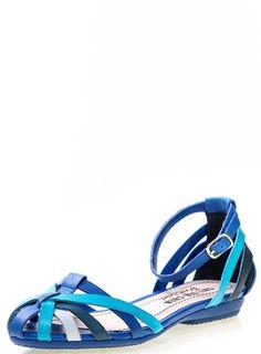 Allegra Blue and Multi
