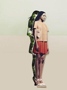 20 Creative Fashion Collages | StyleCaster