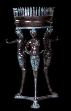 Pompeii Tripod bronze - Roman and Etruscan Statues - Roman and Etruscan - Civilization