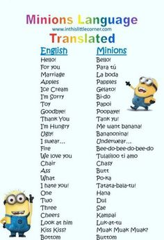 18 Of The Best Minion Jokes Quotes And Sayings - Jokes - Funny memes - - Well we have 18 of the best quotes from our favorite yellow minion friends! The post 18 Of The Best Minion Jokes Quotes And Sayings appeared first on Gag Dad. Minion Photos, Funny Minion Pictures, Funny Minion Memes, Minions Quotes, Jokes Quotes, Funny Texts, Funny Jokes, Despicable Me Funny, Minions Pics