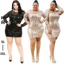 Plus Size Sequin Dress Women Gold Glitter Evening Party Dresses Mesh Dress, Sheer Dress, Cheap Dresses, Short Dresses, Plus Size Sequin Dresses, Glitter Dress, Gold Glitter, Elegant Woman, Buy Dress
