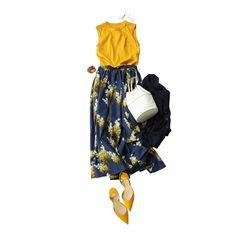 polished work look Modest Fashion, Girl Fashion, Fashion Looks, Fashion Outfits, Womens Fashion, Japan Fashion, Daily Fashion, Casual Fall Outfits, Summer Outfits