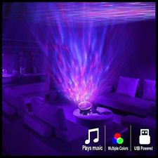 Psychedelic Lamp Light Room Lightning Trippy Wave Effect Relaxation Mood Changer Led Lighting Bedroom Night Light Projector Neon Room