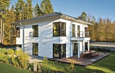 kuchenschranke fertighaus : ... fertigbauweise fertighaus fertighaus holzbauweise stadthaus mit