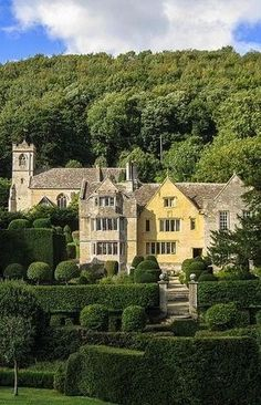 bellasecretgarden: Owlpen Manor House near Uley by Bob Radlinski on Flickr