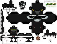 Black Power Ranger Cubee