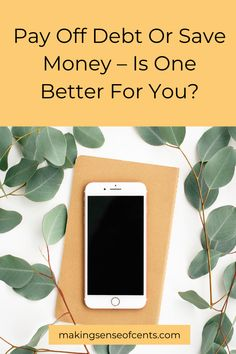 Pay Off Debt Or Save Money - Is One Better For You? Ways To Save Money, Money Saving Tips, How To Make Money, High Yield Savings Account, Mortgage Interest Rates, Rewards Credit Cards, Tax Refund, Money Today, Debt Payoff