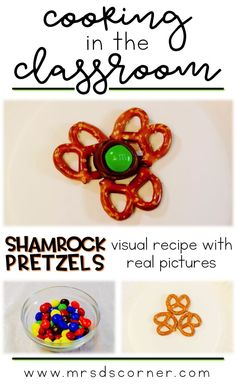 Shamrock pretzels re