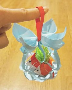 Origami Tree, Origami And Kirigami, Paper Crafts Origami, Origami Box, Origami Easy, Origami Dolphin, Diy Crafts For Kids, Art For Kids, Japan Crafts