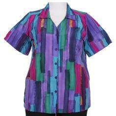 Harlequin V-Neck Tunic for $41.99