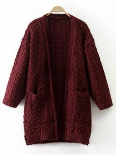GET $50 NOW | Join RoseGal: Get YOUR $50 NOW!http://m.rosegal.com/sweaters/cable-knit-thickening-cardigan-772601.html?seid=10031321rg772601