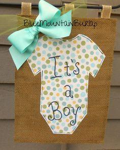 Burlap Baby Garden Flag Outdoor Garden Flag by BlueMountainBurlap, $22.00