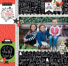 Illustrated Faith Digital CHRISTmas collection | Christmas Memories by Krista Lund