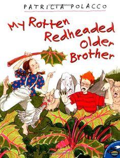 My Rotten Redheaded Older Brother (Aladdin Picture Books) by Patricia Polacco,http://www.amazon.com/dp/0689820364/ref=cm_sw_r_pi_dp_MVDKsb1HC6R2ZRTN