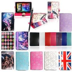 UNIVERSAL NEW PU LEATHER CASE FITS TESCO HUDL 7″ INCH TABLET SMART COVER +STYLUS http://firehdcovers.com