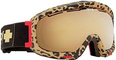 Oh My God! Cheetah Print Snowboarding Goggles!!!! So In Love!