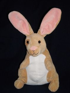 "16"" VELVETEEN RABBIT tan white bunny KOHLS CARES stuffed ANIMAL PLUSH TOY #KOHLS"