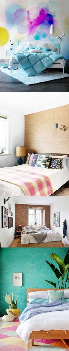 Como decorar las paredes del dormitorio / https://proyectos.habitissimo.es