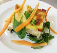 Denné menu Vranov | Špenátové lasagne - reštaurácia Hotel Patriot*** #DenneMenu #Restauracia #Lasagne #Spenat #SpenatoveLasagne