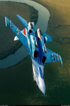 Su-27 ✈ Flanker. http://www.pinterest.com/jr88rules/war-birds/ #Warbirds