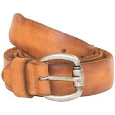 Burnt Dip Dyed Belt from PaoloShoes.com