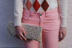 Thaïs Ribbon: Checkered Knitwear