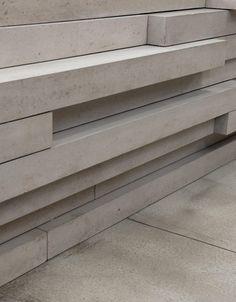 concrete detail:  Edison House by Adjaye Associates