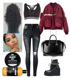"""""""Errands: October 3"""" by allison-syko ❤ liked on Polyvore featuring GCDS, Puma and Givenchy"""
