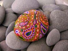 Paisley Design on stone