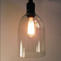 Retro Vintage Glass Lampshade Pendant Light Lamp Loft Personality Industrial Lamp E27 Edison Bulb American Style For Living Room #Affiliate
