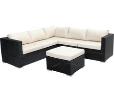 Buy Collection Rattan Effect 5 Seat Patio Furniture Sofa Set at Argos.co.uk, visit Argos.co.uk to shop online for Garden table and chair sets, Garden furniture, Home and garden