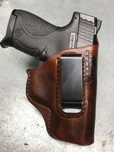 Conceal your pistol with the Thinnest - Strongest Leather Holster in the market. This Old Fashioned Holster is made for the every day carry user. Made in USA. Concealed Carry Holsters, Pistol Holster, Leather Holster, 1911 Holster, Revolver, Custom Leather, Soft Leather, Taurus, Leather Projects