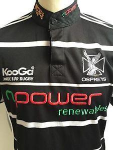 OSPREYS Home Rugby Shirt 2006-2007 Kooga Size M Medium | eBay