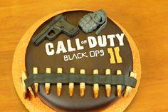 Call of Duty Black Ops 2 Cake! ♥♥♥ I should make this for Briley and I love CALL OF DUTY BLACK OPS 2 @Delmarie Maldonado Maldonado Maldonado wilson ,@Megan Ward Ward Ward Davis ,@Bethany Shoda Shoda Ruby altman