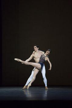 royalballet:  Marianela Nuñez and Federico Bonelli in David Dawson's The Human Seasons. The Royal Ballet 2013/14
