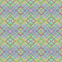 Pastel Plaid Stripe 2 on the Diagonal - lime green, turquoise, yellow, lavender fabric by maryyx on Spoonflower - custom fabric
