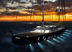 Solar Powered Sailing Yacht Helios Concept for Young Designer of ...