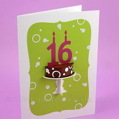 3D Cake Collection  Paper Die Cutting with SVG files DXF