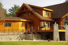 This stunning timber frame home is located in Vilas County WI. With all of our homes we take pride in our work and in helping the homeowner through the building process.   As in vast majority of the cases, our clients are a pure joy to work with and this is a very fun process to go through with them. Because of this we have built many life long friendships with our clients and this homeowner is no exception. - John  http://www.northtwinbuilders.com/new-home-construction-design-layout