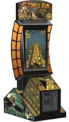 Temple Run Video Arcade Game / Videmption Game   From BMIGaming - http://www.bmigaming.com